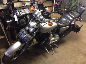 81 Harley Sportster for sale purrs like a lion