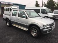 Isuzu TF d-cab 4x4 2.5 di with air conditioning 2003 03