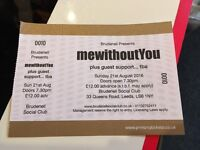 Mewithoutyou ticket Leeds
