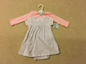 Size 6 month dress brand new still with tag carters
