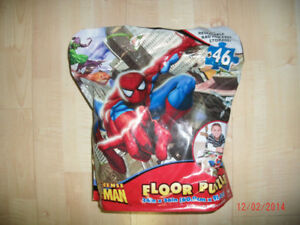 Brand new Spiderman Floor Puzzle for kids!
