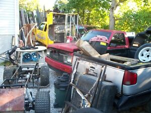 Parting out 1984 to 2002 S-10 trucks Pickers PIG PEN519-738-0166