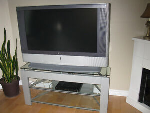 """Sony 46"""" TV and matching stand"""