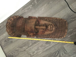 African wooden sculpture