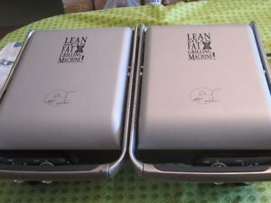 GEORGE FOREMAN LEAN MEAN FAT REDUCING MACHINE GRILL $40