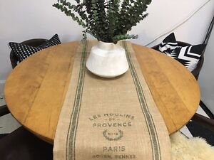 Brand New Burlap Table Runner
