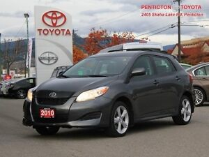 2010 Toyota Matrix XR  - AWD - Low Mileage