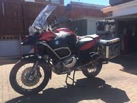 BMW R1200GSA FULLY LOADED WITH SAT NAV