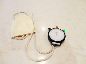 Vintage 1970's Sports Wind Up Stop Watch -The Kind Schools Used