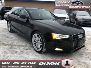2015 Audi A5 2.0T S LINE...PROGRESSIV...AWD..MINT ...ONE OWNER