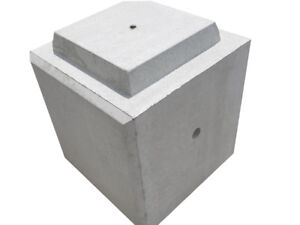 Concrete block for seating, security, bollard, retaining wall++