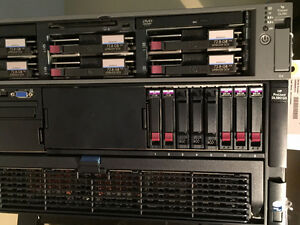 HP Proliant DL 580 G5 and Free DL380 G4
