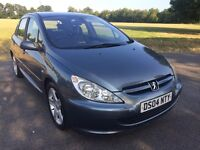 Peugoet 307 2004 hdi TOP SPEC WITH LEATHER