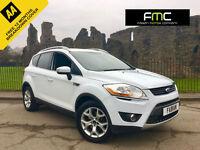 2011 Ford Kuga 2.0TDCi 140BHP Zetec **Full Service History - Frozen White**