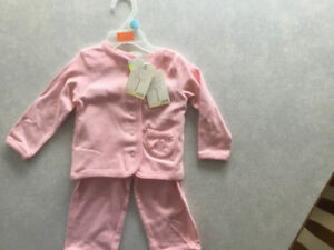Pink Snap Closure Sweater with Matching Pants. BRAND NEW