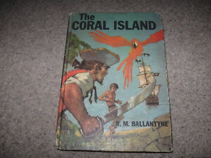 Coral Island-R.M. Ballantyne- 1975 edition in good condition