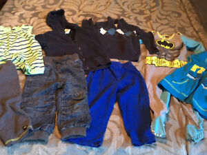 Boys 18-24 months and size 2 clothing lot GUC