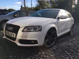 2010 Audi A3 S Line Black Edition (£5600 takes it before 4pm)