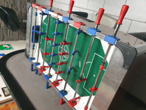 FABI GITONI FOOSBALL MADE IN ITALY COIN OPERATED 50 CENTS A PLAY