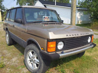 1995 Land Rover Range Rover SUV, Crossover