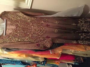Pakistani Indian wedding clothes, jewellery and shoes! Size S-L