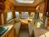 Coachman VIP 520 4 berth Caravan Great Family Layout VGC Awning !