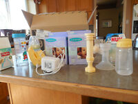 Medela electric   Breast pump and accessories