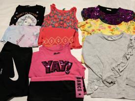 Age 5-6 Girls Bundle (10 items) Benetton, Zara, Nike