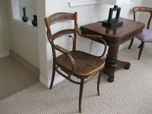 J Kohn bendwood chair