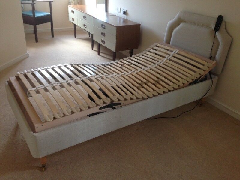 Power assisted fully adjustable single bed