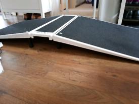 Folding Threshold Wheelchair Ramp