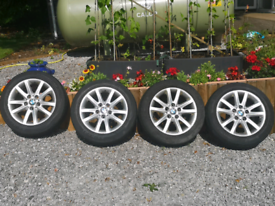 "16"" Genuine BMW Alloys with tyres"