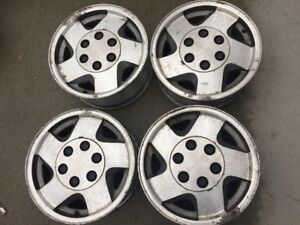 "2 sets of 16"" Tire Rims Christmas special $80"