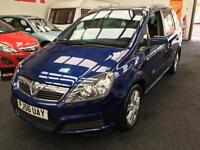 2006 VAUXHALL ZAFIRA 1.6i Active From GBP2950+Retail package.
