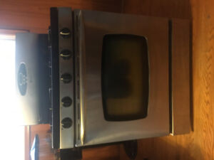 Stainless Maytag gas stove