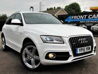 2015 AUDI Q5 2.0 TDI QUATTRO S LINE PLUS START/STOP MANUAL 4X4 DIESEL
