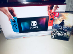 FOR SALE, Nintendo Switch - Red & Blue Edition