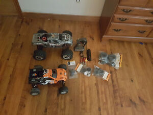Traxxas Tmaxx And HPI Fire Storm