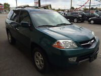 2002 Acura MDX AWD,Leather,Sun roof,Super Clean! 1 yr warranty!