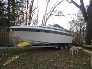 1987 Chris Craft 25 foot with trailer