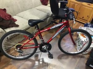 """24"""" EUC shiny red Supercycle SC1800 for someone 10 yrs &up but u"""