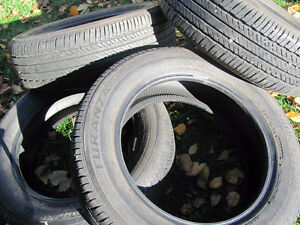 Set of Four, 175/65 R 15, M & S, Bridgestone Tires,Lots of tread Prince George British Columbia image 5