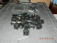 SPEAKON chassis mount 4 poles for speaker box