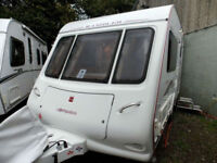 Compass Rambler 12/2 2007 Lightweight & Compact End Kitchen Touring Caravan