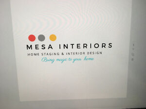 MESA INTERIORS****** PROFESSIONL HOME STAGING **** IN YOUR BUDJE