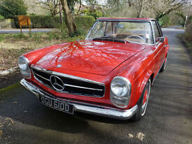 1966 Mercedes-Benz 230SL W113 Pagoda. Hard & soft top