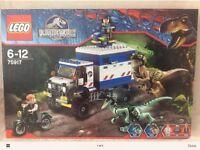 Lego Dinosaur Jurassic Park Raptor Rampage 75917