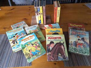 Vintage hardcover children books