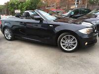 BMW 1 SERIES 2.0 118d M SPORT (carbon black metallic) 2013