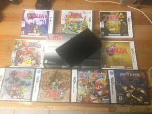 Nintendo 3ds XL 9 games 300 obo